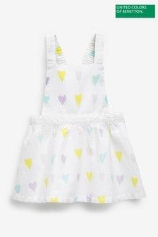 Benetton Printed Strappy Dress