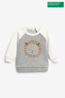 Benetton Long Sleeve Character T-Shirt