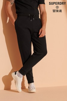 Superdry Micro Logo Loose Taper Brushed Joggers