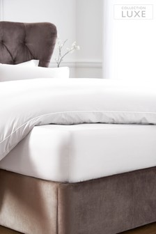 Deep Fitted 300 Thread Count Collection Luxe 100% Cotton Sheet