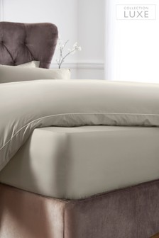 Extra Deep Fitted 300 Thread Count Collection Luxe 100% Cotton Sheet