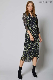 Mint Velvet Charlotte Wrap Midi Dress