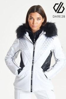 Dare 2b White Julien Macdonald Resplendent Ski Jacket