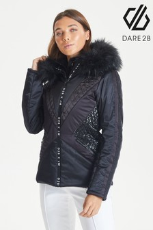 Dare 2b Black Julien Macdonald Resplendent Ski Jacket