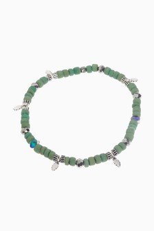 Beaded Stretch Anklet