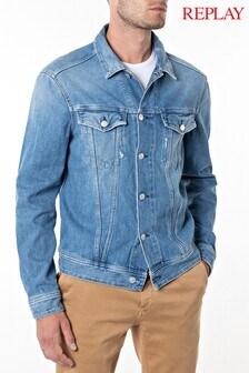 Replay® Light Blue Jacket