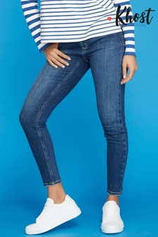 Khost Blue Supersoft Slim Leg Jeans