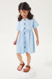 Relaxed Denim Dress (3-16yrs)