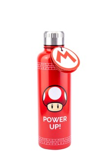 Super Mario Power Up Water Bottle