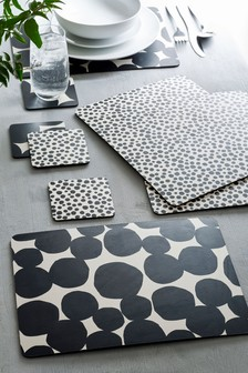 Set of 4 Arlo Placemats and Coasters