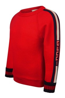 Boys Red Sweater