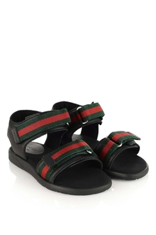 GUCCI Kids Leather Sandals