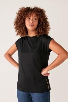 Zip Hardware T-Shirt