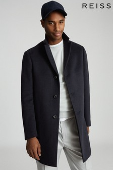 Reiss Gable Wool Blend Epsom Overcoat
