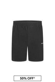 Balenciaga Kids Boys Cotton Shorts