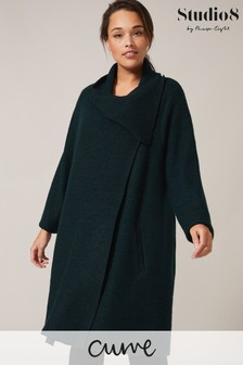 Studio 8 Green Bellona Knit Coat