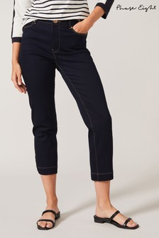Phase Eight Blue Ramona Straight Leg Jeans