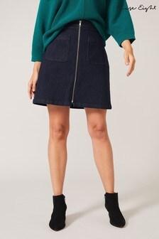 Phase Eight Blue Katya Denim Skirt