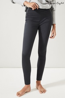 Phase Eight Grey Amina Double Zip Jeggings