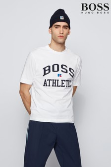 BOSS x Russell Athletic White T-Shirt