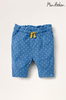 Boden Blue Spot Cord Pull-On Trousers