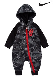 Nike Baby Grey Camo All-In-One