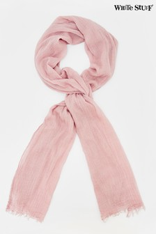 White Stuff Pink Skinny Dreaming Away Scarf