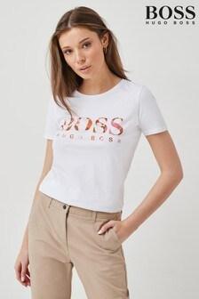BOSS White Eti T-Shirt