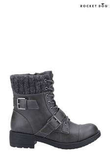Rocket Dog Grey Travis Biker Boots
