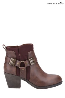 Rocket Dog Brown/Brown Setty Ankle Boots