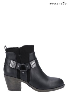 Rocket Dog Black/Black Setty Ankle Boots