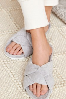Knot Towel Slider Slippers