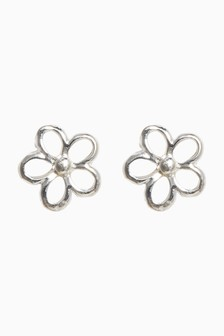 Dainty Flower Stud Earrings