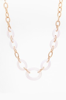 Resin Chain Necklae