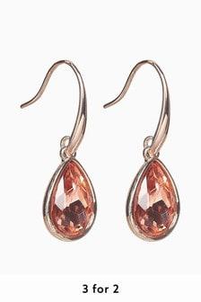 Teardrop Jewel Earrings