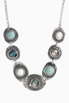 Burnished Collar Necklace