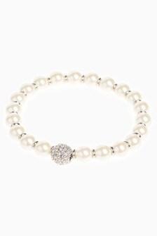 Pavé Crystal Effect Stretch Bracelet