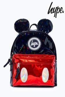 Hype. Disney™ Mickey Black Red Shine Mini Backpack