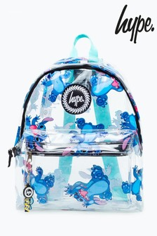 Hype. Disney™ Stitch Transparent Backpack