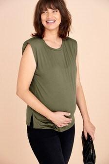 Maternity Shoulder Pad T-Shirt
