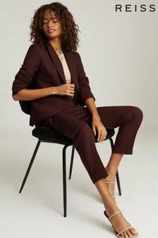 Reiss Berry Freya Wool Blend Slim Fit Blazer