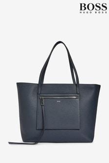 BOSS Blue Carrie Shopper Shoulder Bag