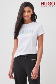 HUGO White The Slim T-Shirt