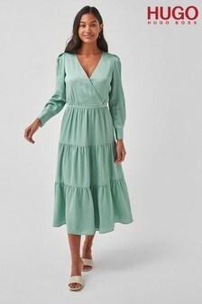 HUGO Green Kimusa Dress