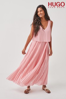HUGO Pink Keplissa Dress
