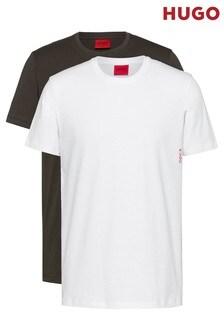 HUGO Green T-Shirts 2 Pack
