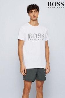BOSS Natural Regular Fit Logo T-Shirt