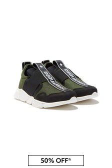 Dsquared2 Kids Trainers Slip-On Trainers