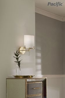 Pacific Gold Marble Effect Wall Light