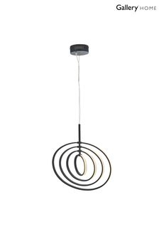 Gallery Direct Black Avici 4 Bulb Pendant Light